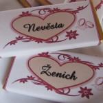 Svatební doplňky - nevěsta a ženich