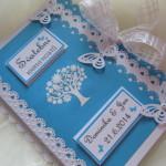 Svatební kniha světle modrá