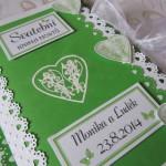 Svatební kniha- konvalinka